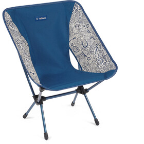 Helinox One Chaise, blue paisley/navy